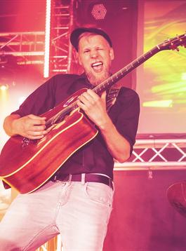 Gitarrist Matti