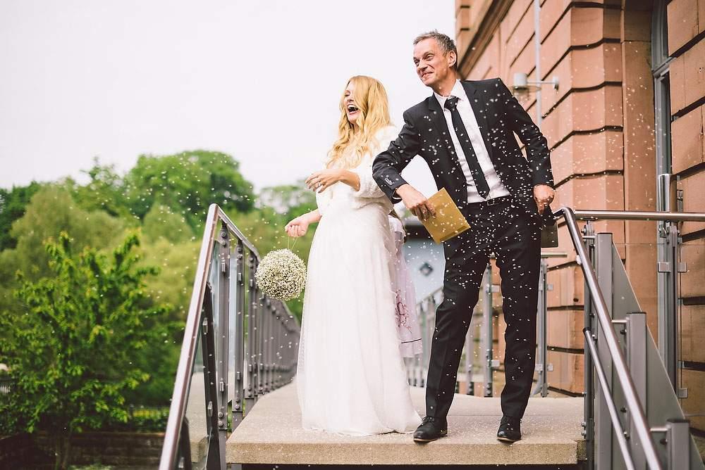 Hochzeitsband Sektempfang