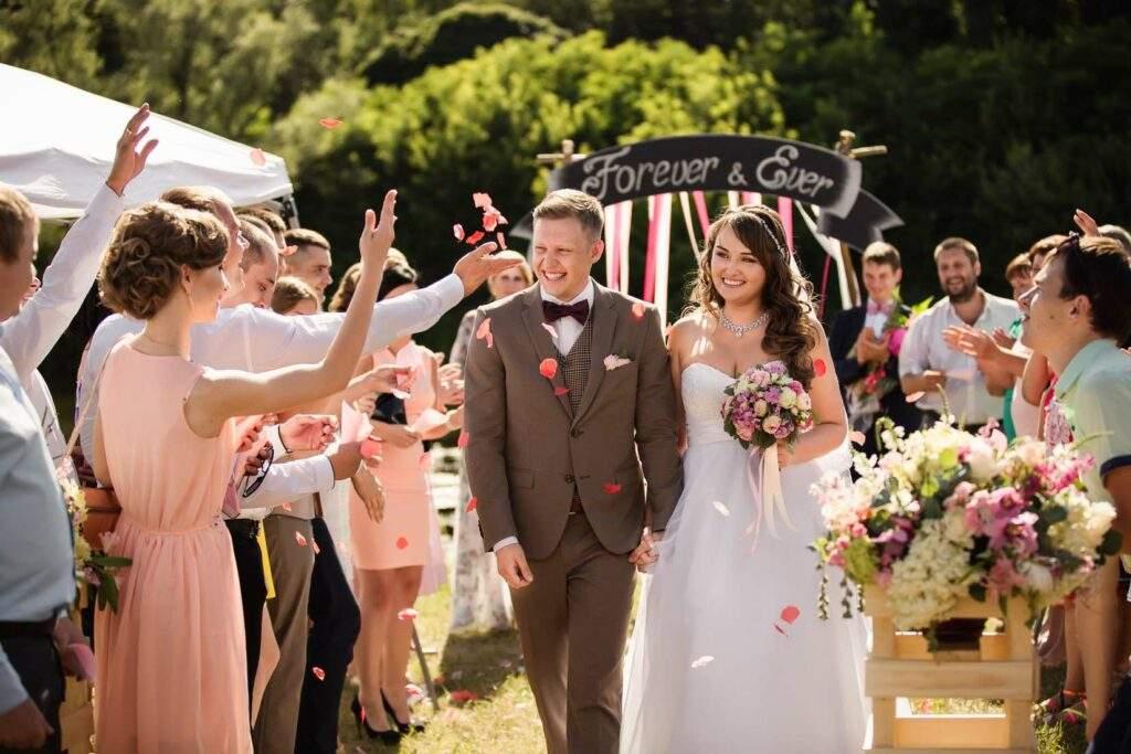Hochzeitsmusik Auszug Brautpaar